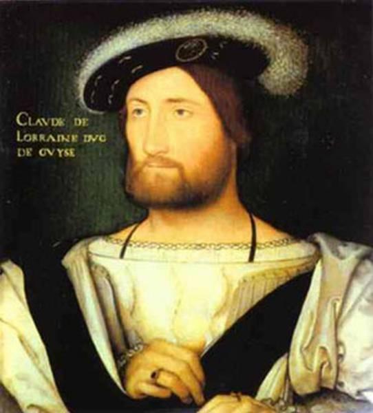 Portrait oflaude of lorraine duke of guise xx palazzo pitti